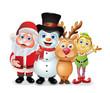 Santa Group Photo
