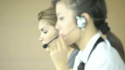 Call center employees; Nikon D3S, HD: Photo JPEG.