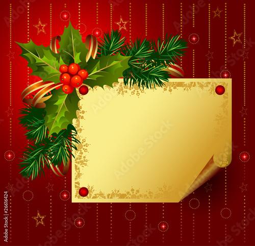 christmas backdrop Vector