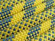 macro corde jaune escalade varappe spéléo
