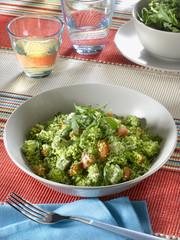 couscous de légumes verts