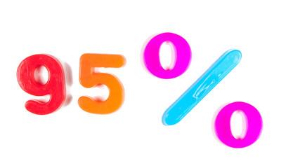 95% written in fridge magnets