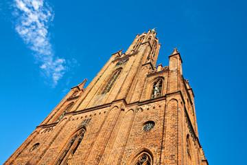 Die Klosterkirche Malchow.