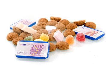 candies for Sinterklaas, a dutch tradition