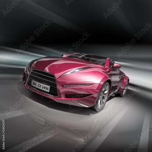 Sports car. Original design.
