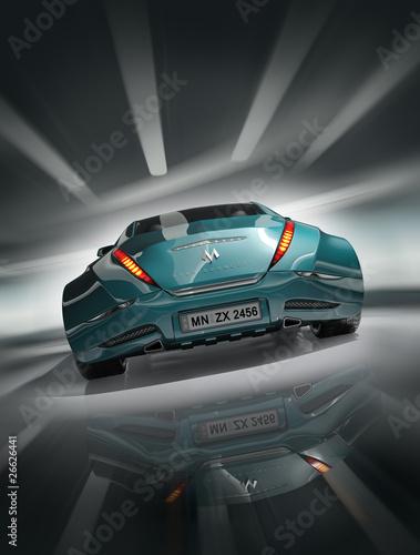 Foto op Canvas Stadion Sports car. Original design.