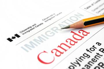 Immigration form Canada