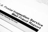 Mail fraud report poster