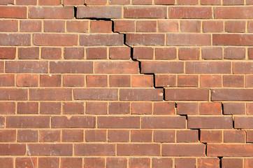 brick wall and break