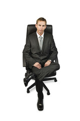 Executive sitting