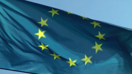 Europa Flagge - Video - Flag Europe