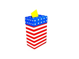 american ballot box