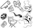 Movie Item Doodles