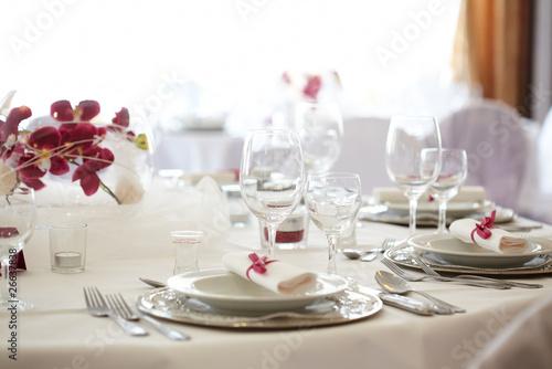 festliche Tischdekoration - 26637838
