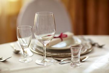festliche Tischdekoration
