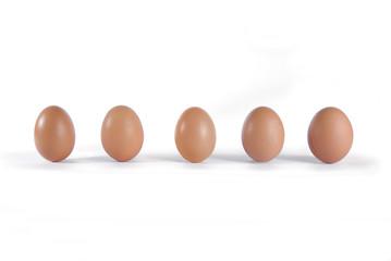 Cinque uova