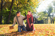 couple autumn