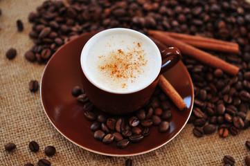 Kaffee, Zimtstangen