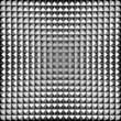 Triangle aluminium silver tile background