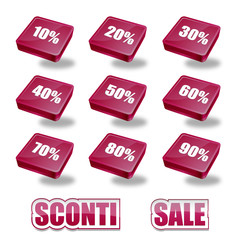 Percentuali Sconti Amaranto