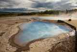 Geothermal area - Iceland poster