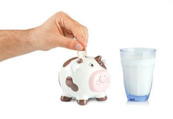 Risparmiare sull'acquisto del latte