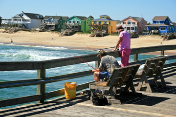 Angler in Nags Head