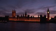 Panorama of big ben by night