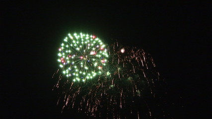 Amazing fireworks to celebrate the new year