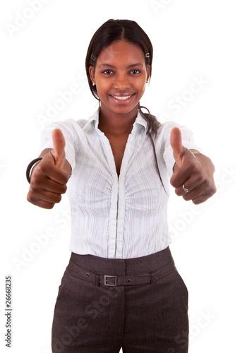femme d 39 affaire noire de samuel borges photo libre de droits 26668235 sur. Black Bedroom Furniture Sets. Home Design Ideas