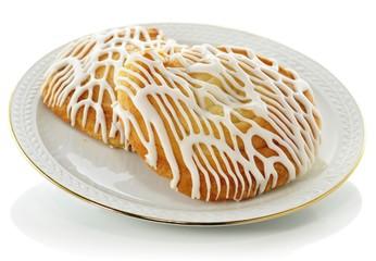 fresh rolls on a plate