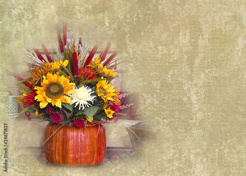 Fall Textured Background