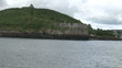 View from a boat of James Fort in Ireland