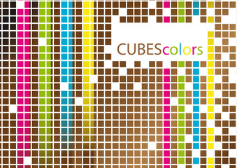 cubes colors