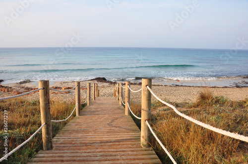 Footbridge to the beach - 26677239