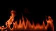 Fire. High Speed HD Camera - 200 fps