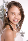 jeune fille souriante - ange