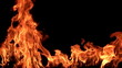 Fire flames. High Speed HD Camera / 1920x1080