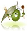 oliva verde cuoco