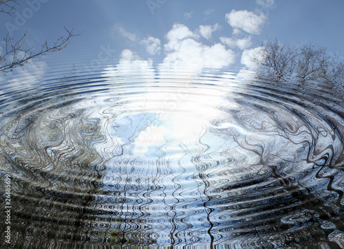 himmel-spiegelung - 26685699