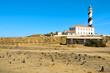 view of Favaritx beacon in Menorca, Balearic Islands, Spain