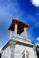 Belltower in Marble Temple