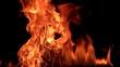 HD Fire flame (200 fps)