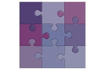 puzzle mauve