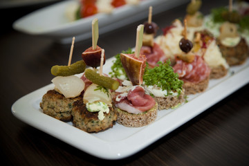 Mixed Canapé