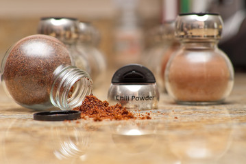 Spilled Chili Powder Spice