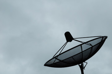 photo of the satellite