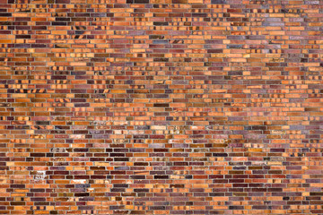 Beautiful old brick wall
