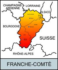 Régions françaises: Franche-Comté