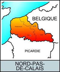 Régions françaises: Nord-Pas-de-Calais